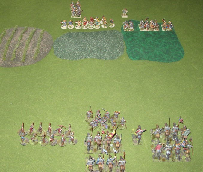 The Warbands face off!