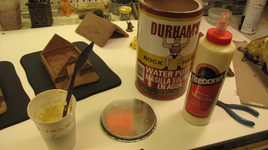 """Always use """"Quality"""" materials in your projects! This can of Durham's Rock Hard cost about $10 but contains enough for years of projects and NEVER spoils!"""
