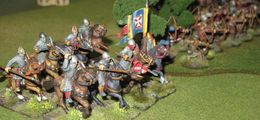 The Norman battle line!