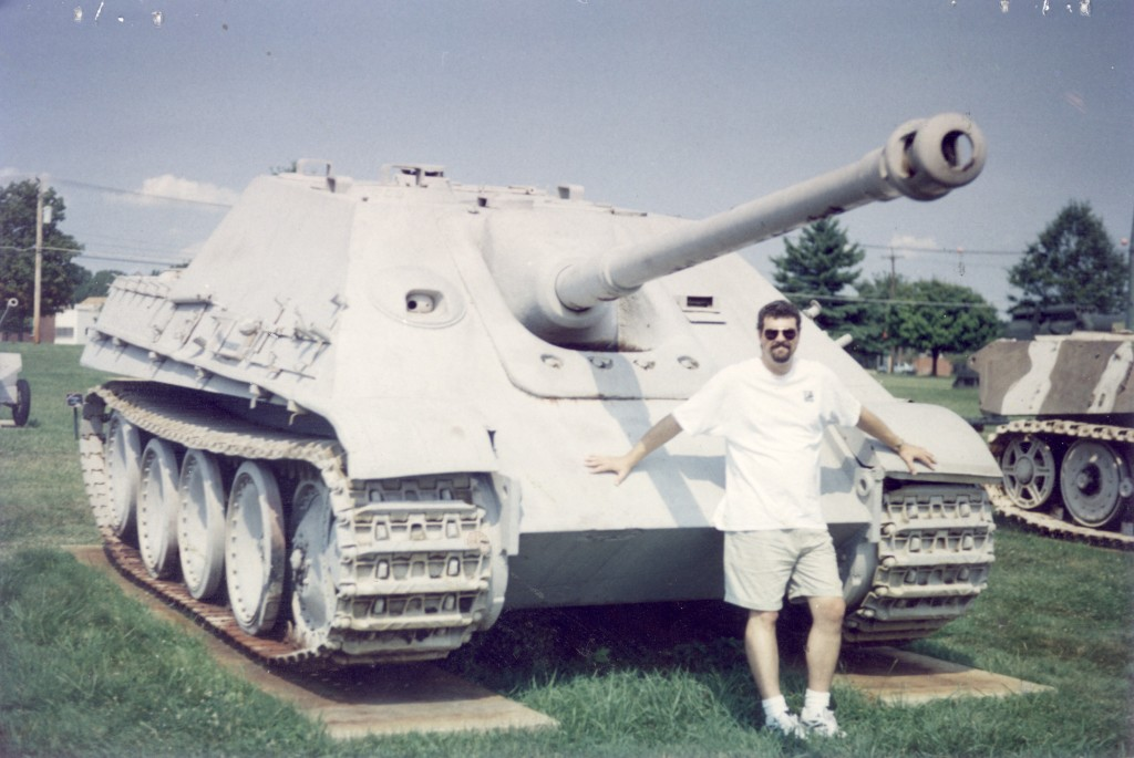 Tim D thinking will this fit in my bag? A Jagd Panther