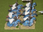 Several Cross and Crescent warbands were fielded.